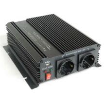 Feszültség átalakító Inverter 1000 watt