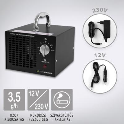 Ózongenerátor Black 3500 12V